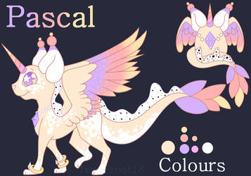 Egg Adoptable (Batch 2) Pascal Ref Sheet by Ivy-Frost18