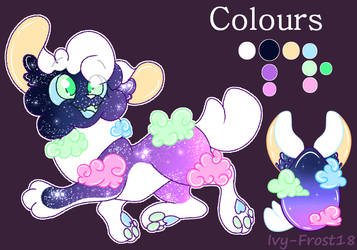 Egg Adoptable (Batch 3) #1 Ref Sheet by Ivy-Frost18