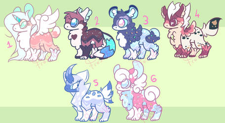 Creature Adoptables [OPEN] by Ivy-Frost18