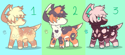 Doggo Adoptables #1 [OPEN] by Ivy-Frost18
