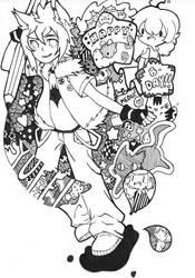 Happy Birthday Yufei by Color-Cat65