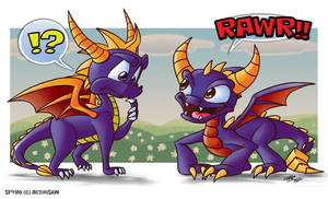 Spyro the WHAT IS THAT?