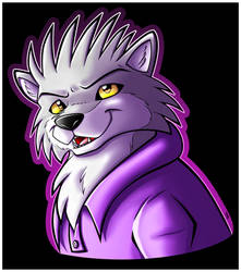 Wolf with Spikey Hair!