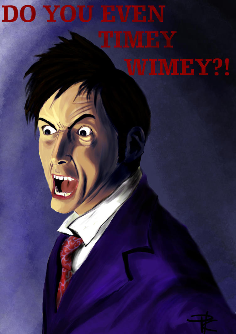 10th Doctor: Do you even Timey Wimey?! by dmax666