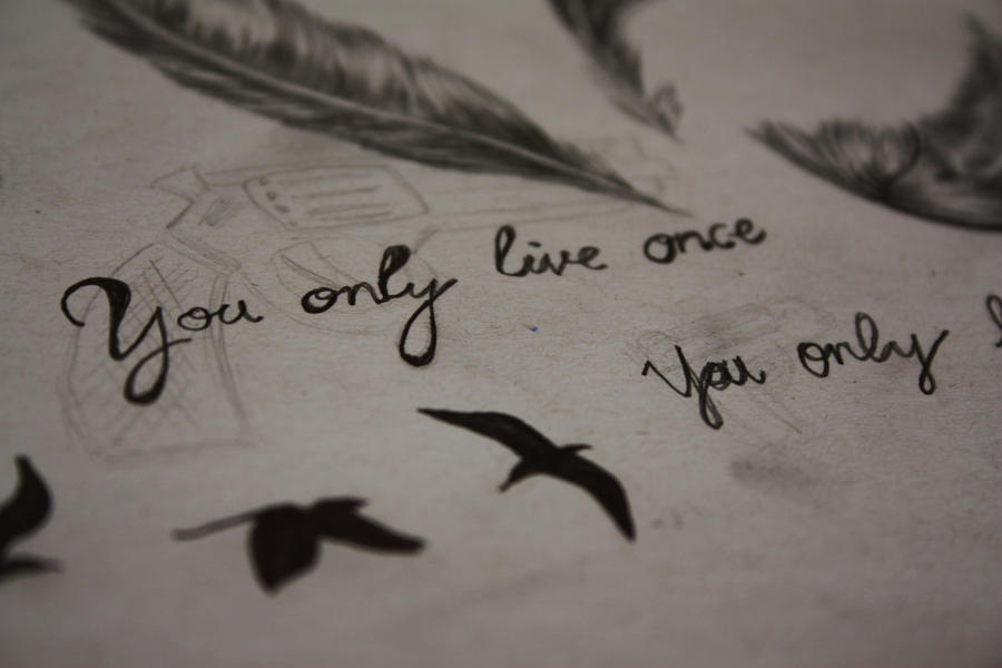 you only live once by m0nkikiYou Only Live Once Wallpaper