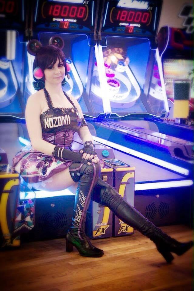 Arcade-Cyber Nozomi by KisaCosplay