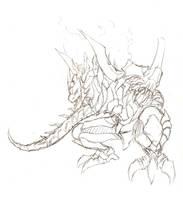 Earth dragon by Marshal91