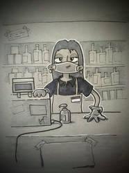 shopkeeping in a quarantine
