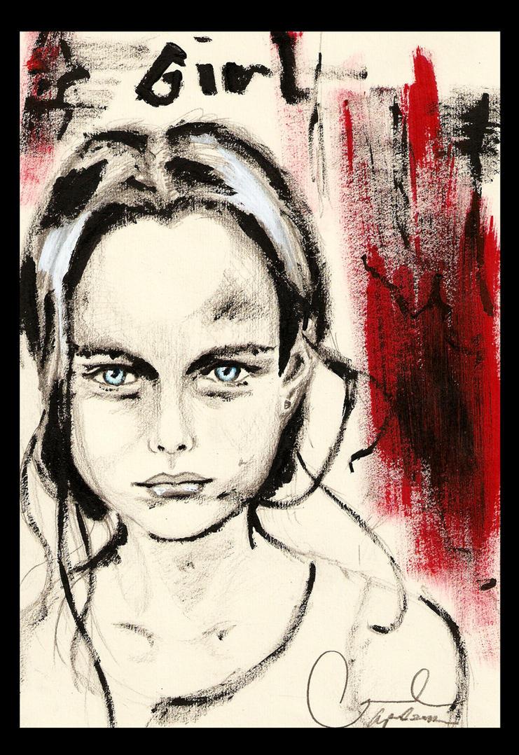 Macabre Girl by carlusdarienus