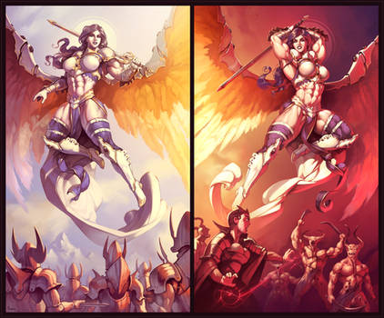 The Akroma Diptych [commission]