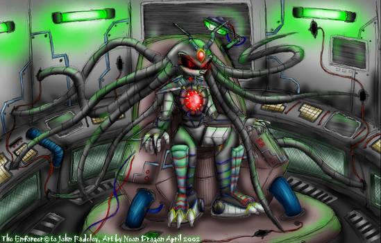 The Enforcer: Metal terror....