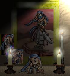 A shrine to Jirrard...oye... by The-Enforcer-Saga