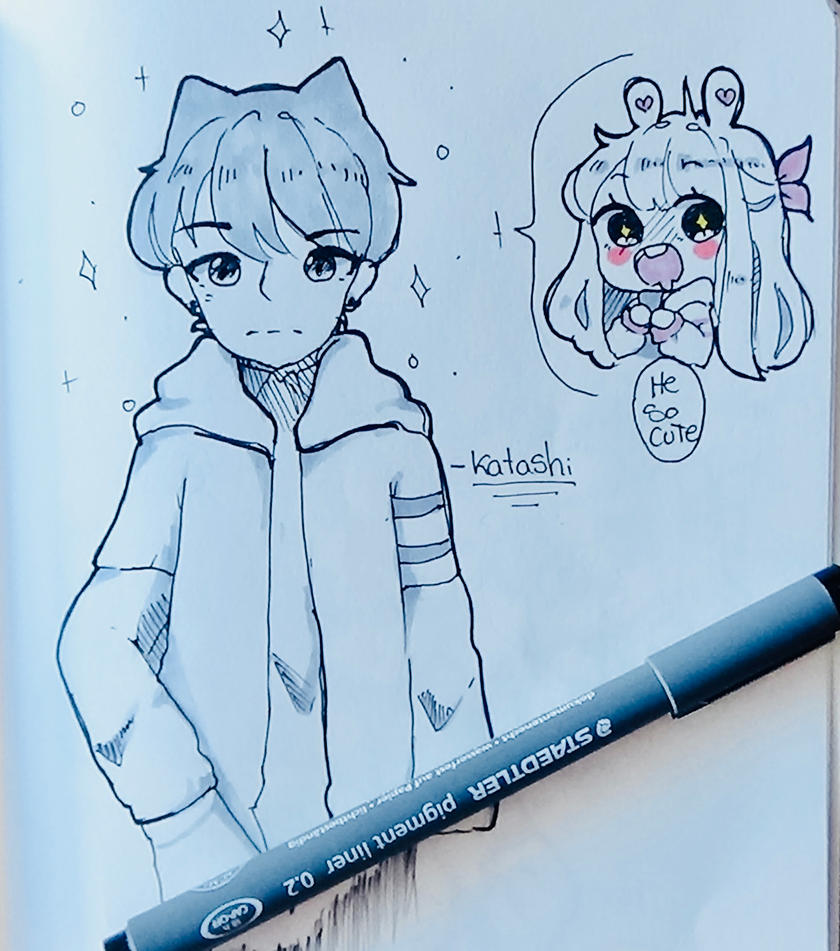 He so cute! by Minokito