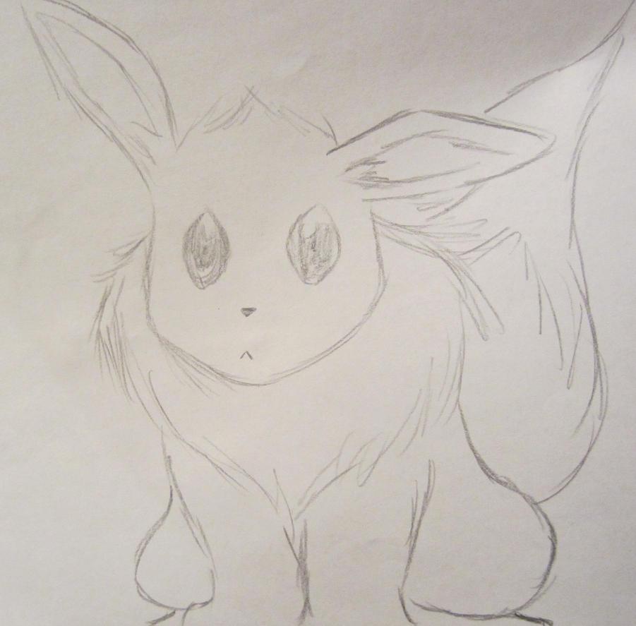 i made an adorable eevee by pikafoomoo