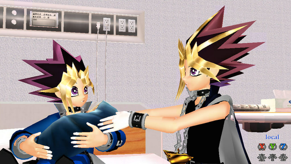 Yugi Have A Baby D Puzzleshipping By Guiffi On Deviantart