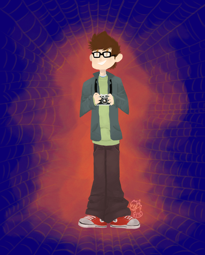 Peter Parker by paristhedragon