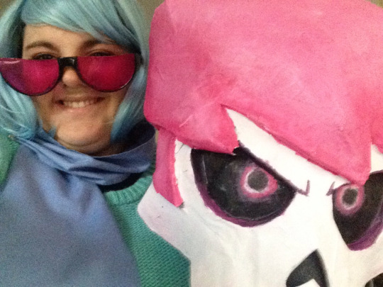 My vivi cosplay with lewis head prop by paristhedragon