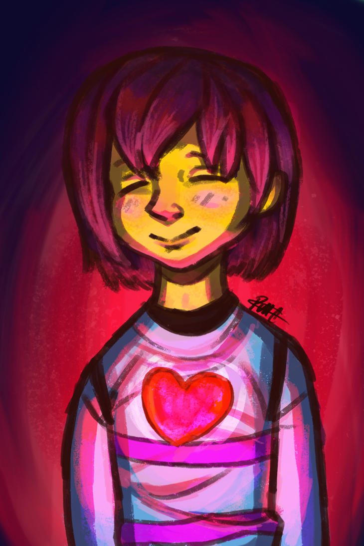 frisk by paristhedragon