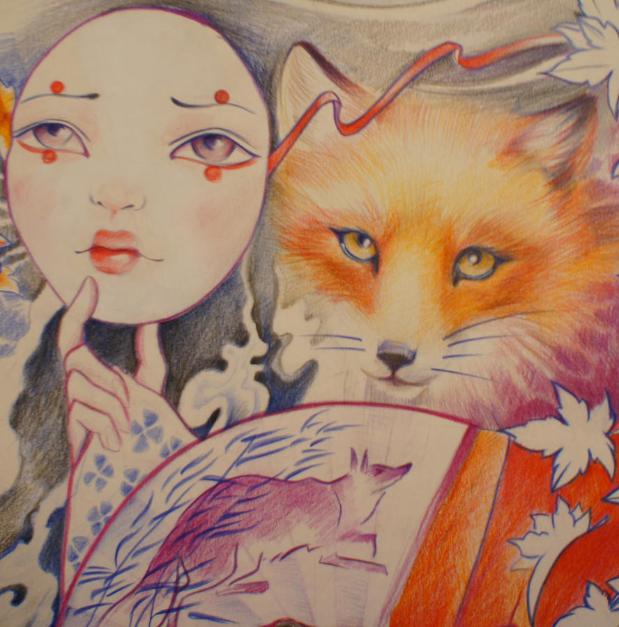 Kitsune by selfishkoiKitsune Traditional