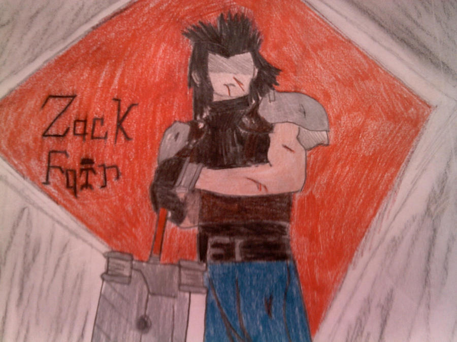 Zack Fair Crisis Core by Cherrywind101