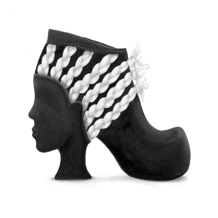 Braided Shoe by renurenu