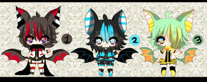 Kemonomimi Shotas - Bat-  AUCTION - CLOSED