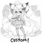 Female KemonoSpecterlius - Custom- OPEN