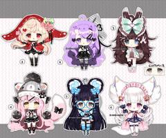 Cutie loli Adoptables - CLOSED by Ayuki-Shura-Nyan