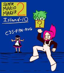Island 10! Kemurikusa Mario Maker 2 stage