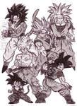 Saiyan Gokus