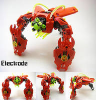 Bionicle MOC: Electrode by LordObliviontheGreat