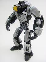 Bionicle MOC: Midak Golem V2 by LordObliviontheGreat