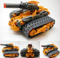 Bionicle MOC: Terra Tank by LordObliviontheGreat