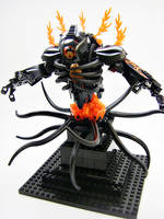 Bionicle MOC: Temple Deity WIP by LordObliviontheGreat