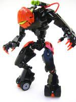 Bionicle MOC: Hunter by LordObliviontheGreat