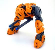 Bionicle MOC: Sad Robot by LordObliviontheGreat