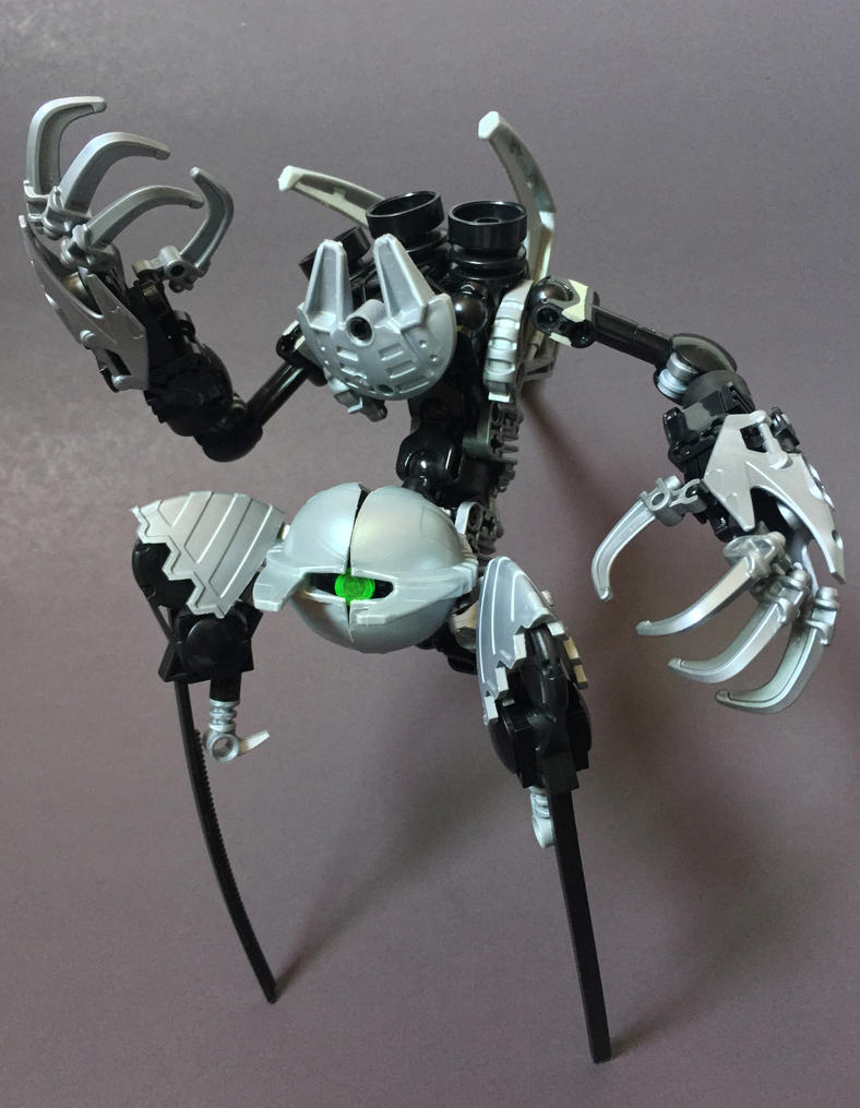 Bionicle MOC: Overseer by LordObliviontheGreat