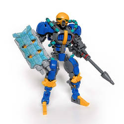 LEGO MOC: ZK-UNIT: AQUAMARINE