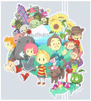 Mother 3: TOO MANY FEELS by kiwi-berry