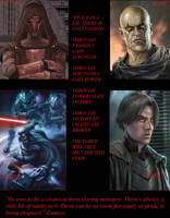 Dark Lords of the Sith Collage by DragonQueenRachel