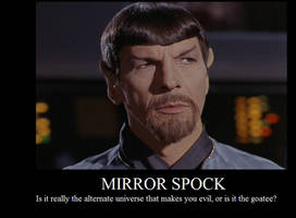 Mirror Spock Demotivational