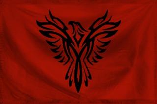 Crimson Empire Flag by DragonQueenRachel