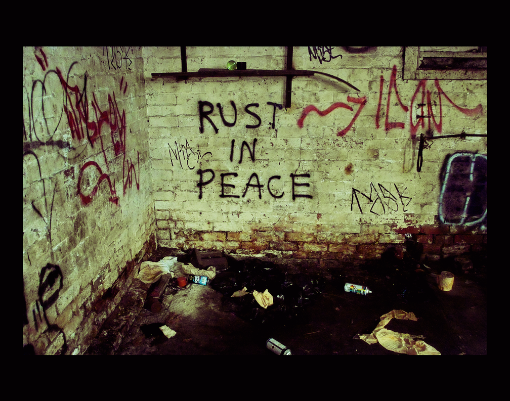 RUST IN PEACE by thespook