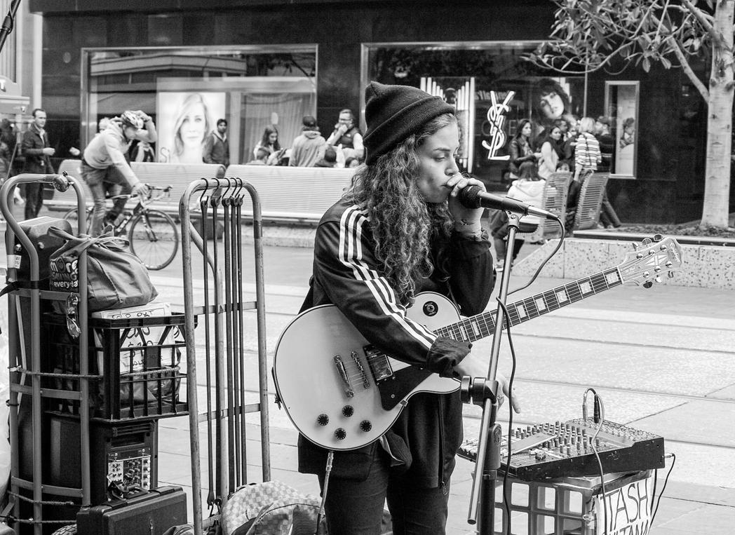 Tash Sultana beatboxing by thespook