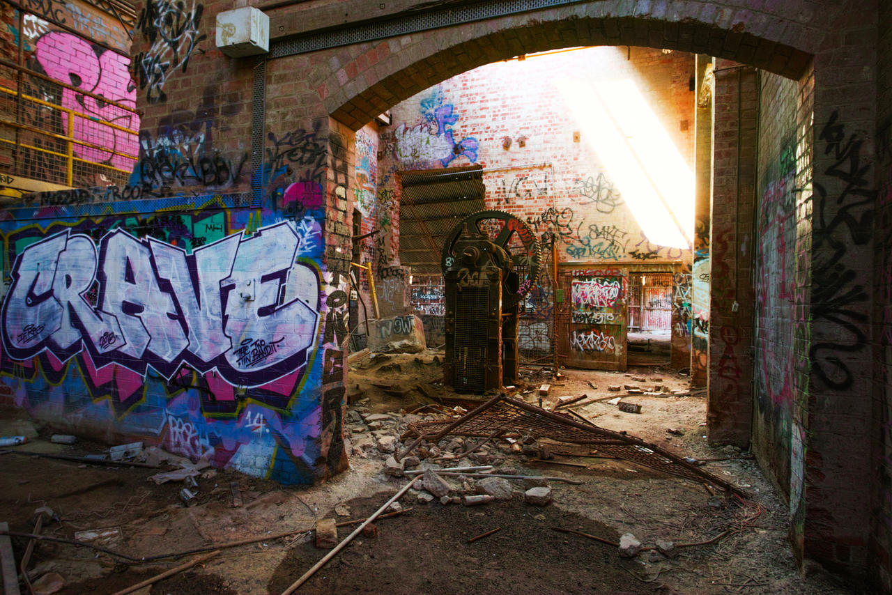 crave, Box Hill brickworks by thespook