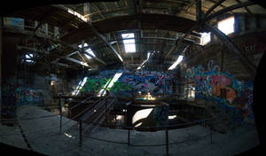 upper level, Box Hill brickworks. by thespook