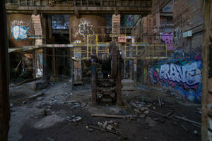 1163, Box Hill brickworks. by thespook