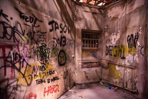 1061, Larundel Mental Asylum. by thespook