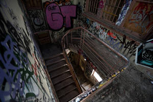 1201, Larundel Mental Asylum. by thespook