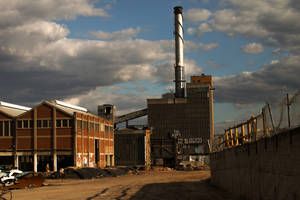 4582, old AMCOR papermill. by thespook